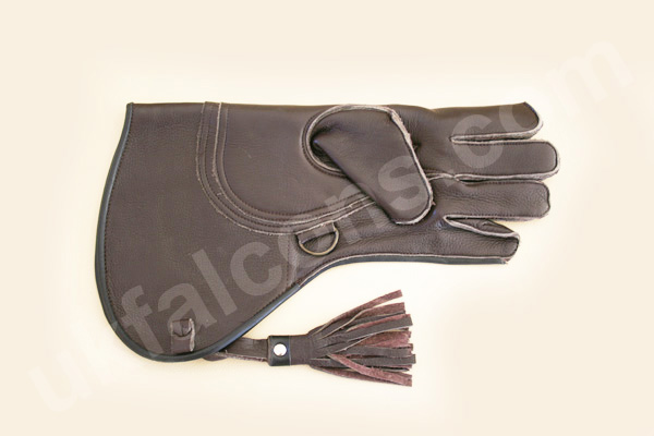 Red Raptor Falconry Glove for Sale: 3 Layers