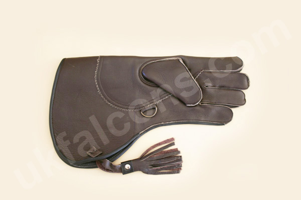 Red Raptor Falconry Glove for Sale: 2 Layers